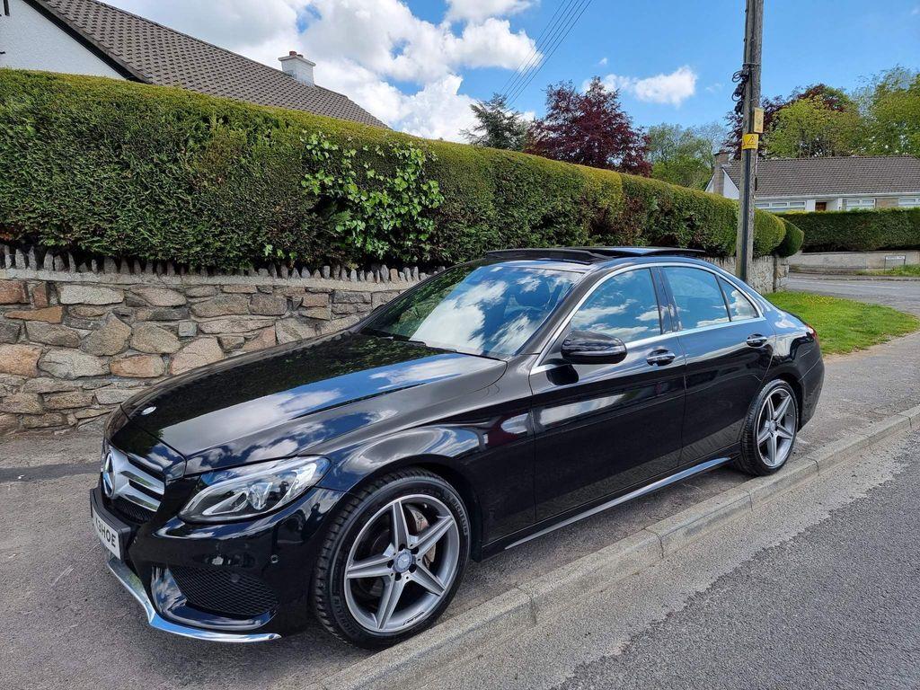 Mercedes-Benz C Class Saloon 2.1 C220d AMG Line (Premium Plus) G-Tronic+ (s/s) 4dr