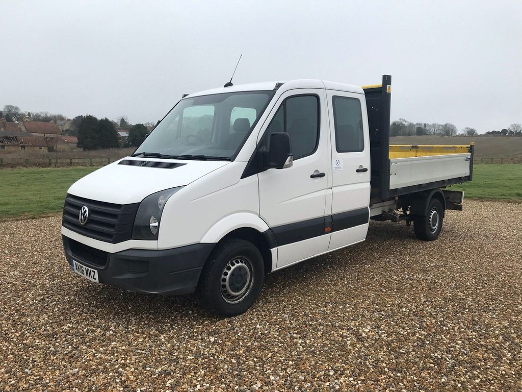 Volkswagen Unlisted Chassis Cab CR35 TDI DCB TIPPER