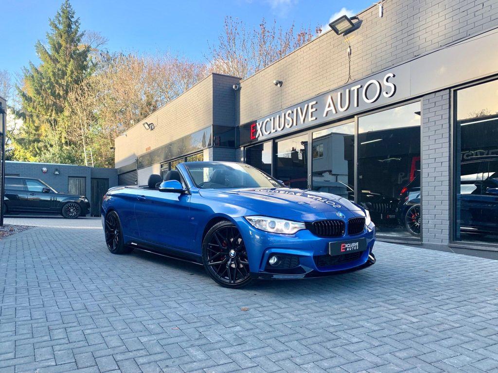 BMW 4 Series Convertible 2.0 420i M Sport Auto 2dr