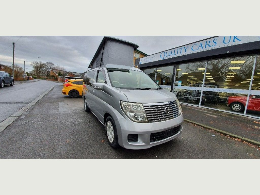 Nissan ELGRAND 2.5 AUTO Campervan BRAND NEW CONVERSION