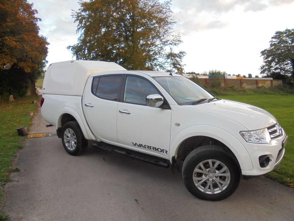 MITSUBISHI L200 Pickup 2.5 DI-D CR Warrior Double Cab Pickup 4WD 4dr