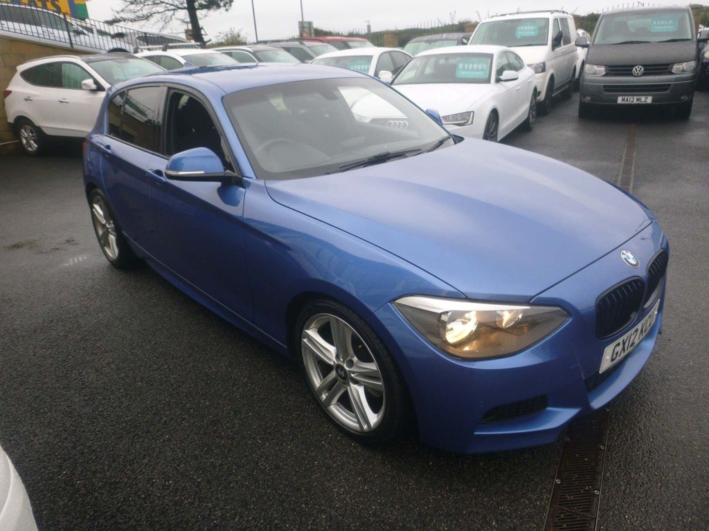BMW 1 SERIES Hatchback 2.0 125d M Sport Sports Hatch 5dr