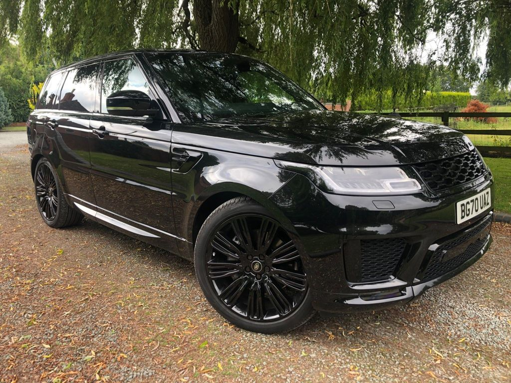 Land Rover Range Rover Sport SUV 3.0 D300 MHEV HSE Dynamic Black Auto 4WD (s/s) 5dr