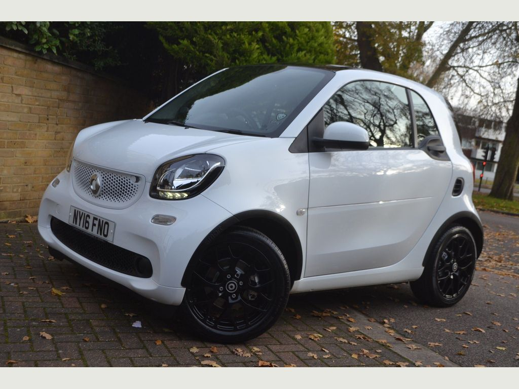 Smart fortwo Coupe 0.9T Edition White Twinamic (s/s) 2dr