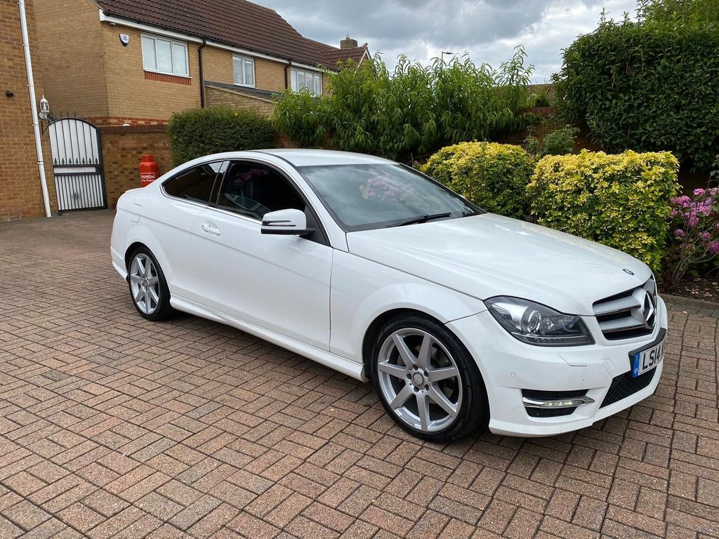 Mercedes-Benz C Class Coupe 2.1 C250 CDI AMG Sport Edition 7G-Tronic Plus 2dr