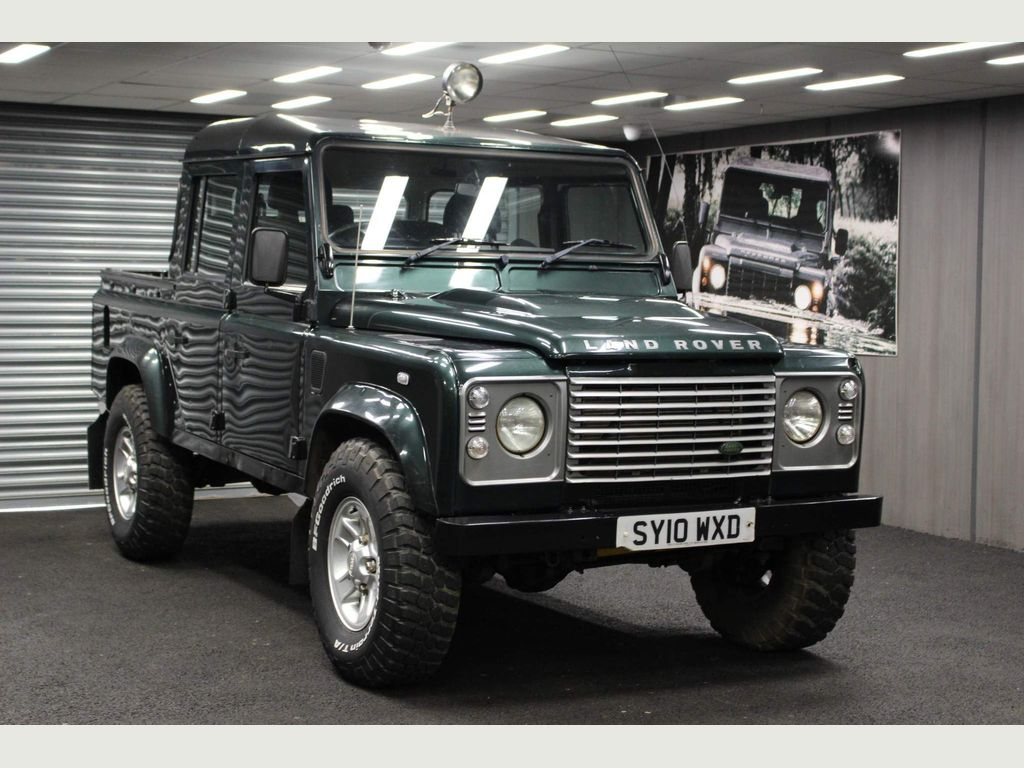 Land Rover Defender 110 Pickup 2.4 TDCi County Double Cab Pickup 4WD MWB 4dr