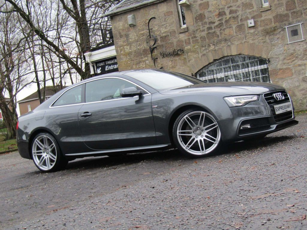 Audi A5 Coupe 3.0 TDI S line S Tronic quattro 2dr