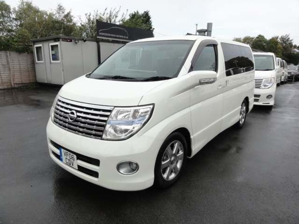 NISSAN ELGRAND MPV HIGHWAY STAR 2.5 DISABILITY SEAT CAR