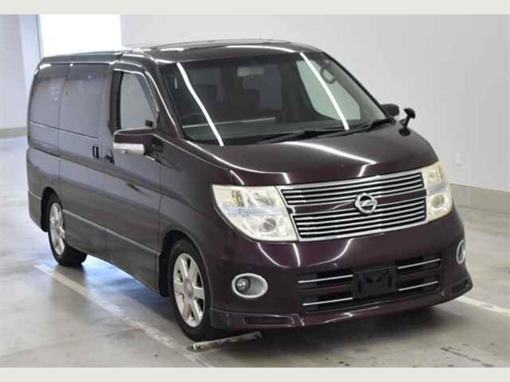 Nissan Elgrand Unlisted 3.5 HEATED RED LEARHERS TWIN SUNROOF