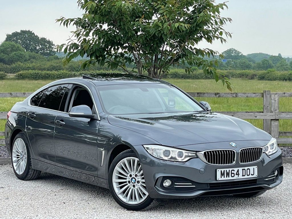 BMW 4 Series Gran Coupe Hatchback 2.0 420d Luxury Gran Coupe Auto xDrive (s/s) 5dr