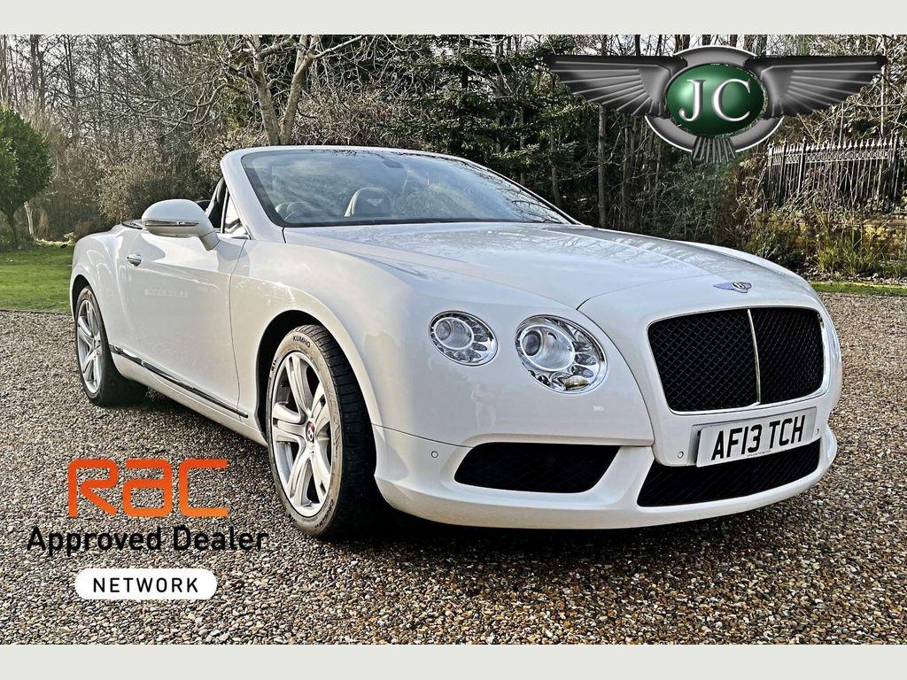 Bentley Continental Convertible 4.0 GTC V8 Auto 4WD 2dr (EU5)