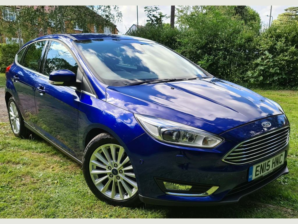 Ford Focus Hatchback 1.5T EcoBoost Titanium X Auto (s/s) 5dr