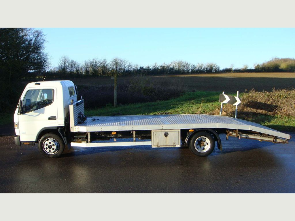 Mitsubishi Canter Dropside 20FT ALLOY BEAVERTAIL RECOVERY TRUCK