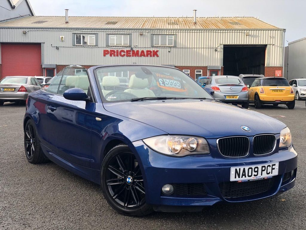 BMW 1 Series Convertible 2.0 120i M Sport 2dr