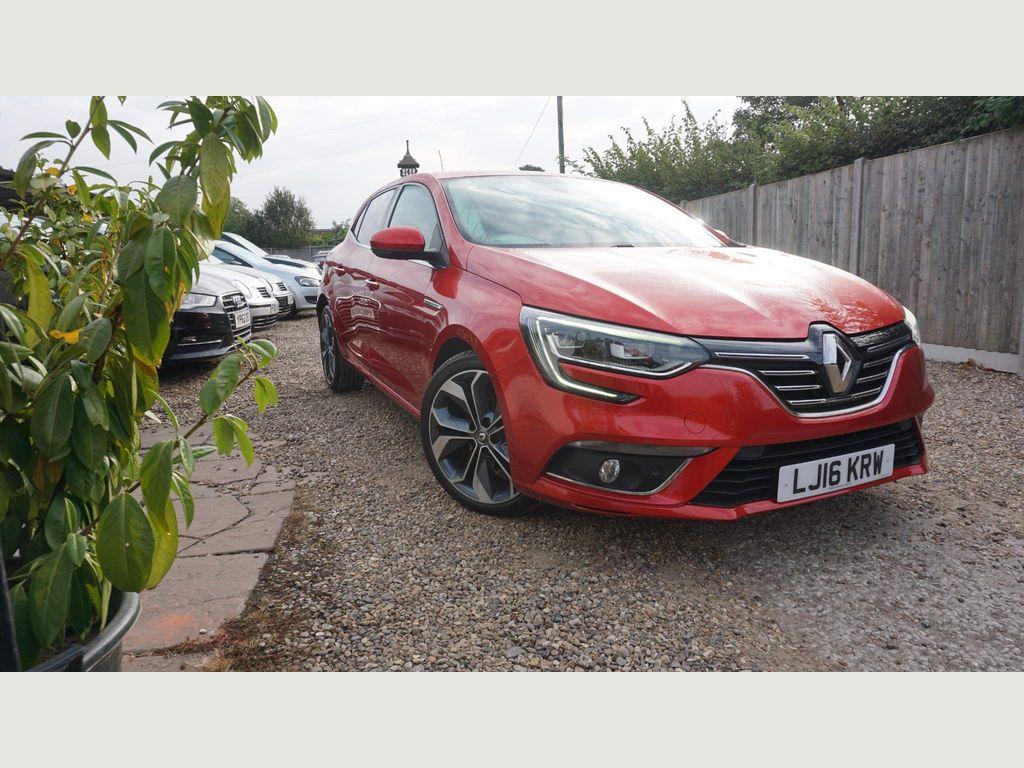 Renault Megane Hatchback 1.5 dCi Signature Nav EDC 5dr
