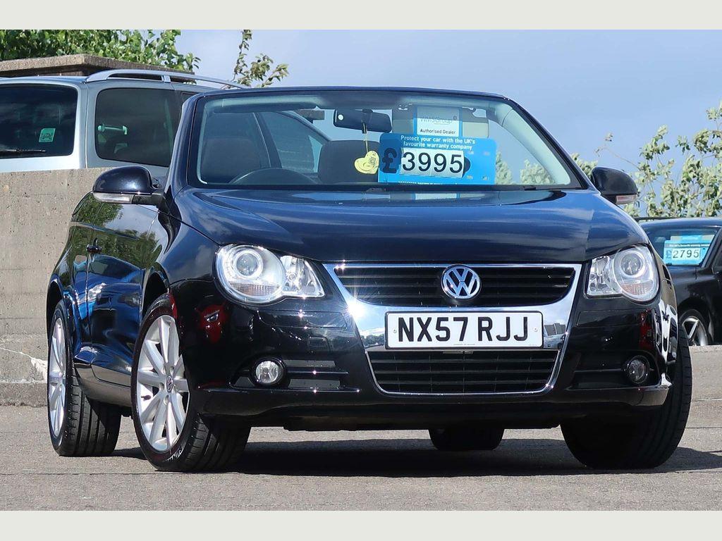 Volkswagen Eos Convertible 1.6 FSI Cabriolet 2dr