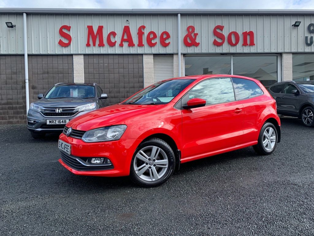 Volkswagen Polo Hatchback 1.0 Match Edition (s/s) 3dr