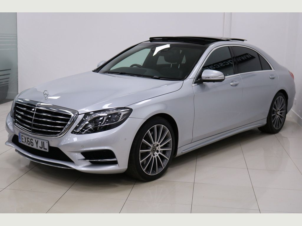 Mercedes-Benz S Class Saloon 3.0 S350d AMG Line L (Executive Premium Plus) 9G-Tronic Plus 4dr