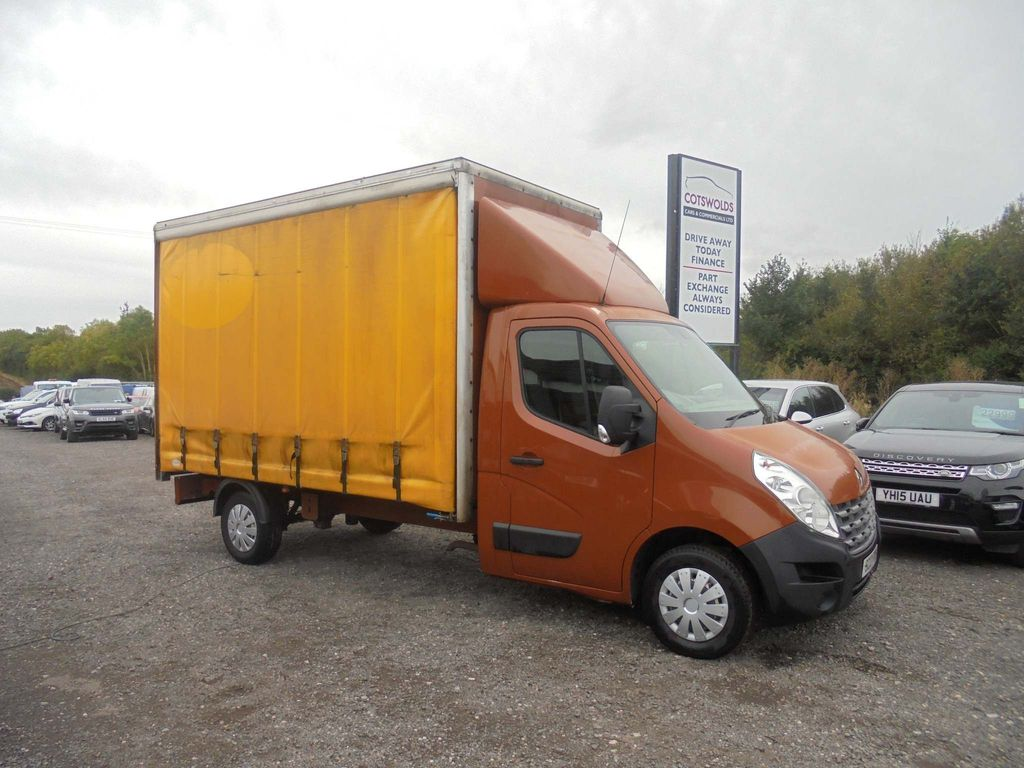 Renault Master Curtain Side 2.3 dCi CCLL35 Chassis Cab (FWD) 2dr (LWB)