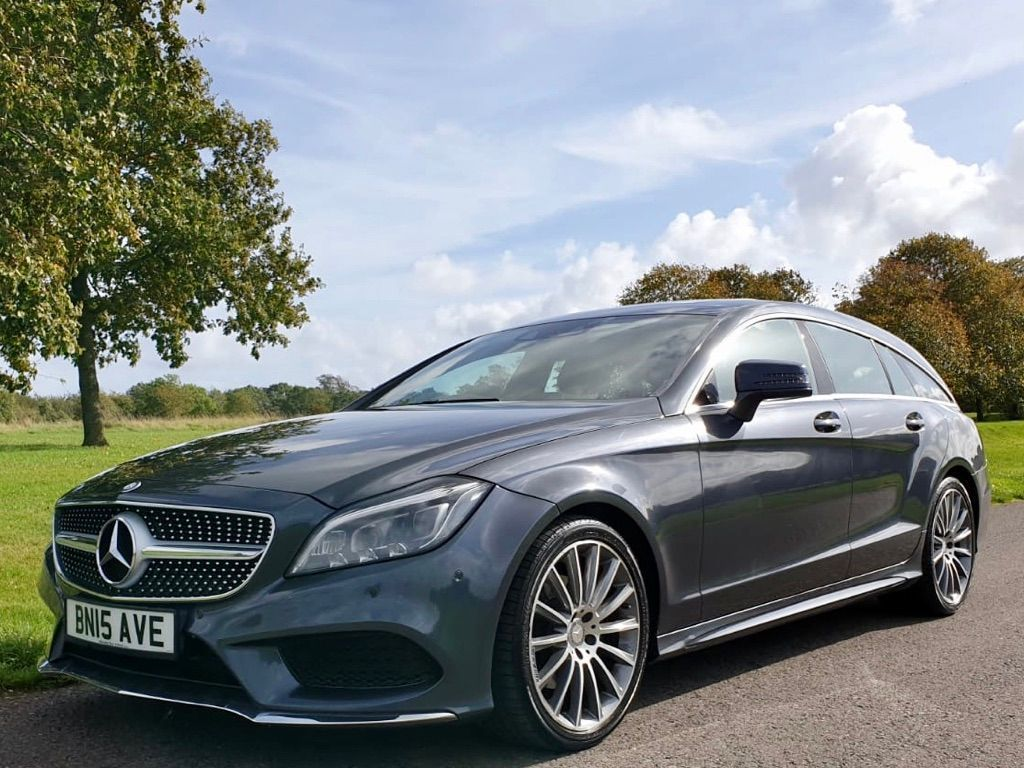 Mercedes-Benz CLS Estate 2.1 CLS220d AMG Line (Premium Plus) Shooting Brake G-Tronic+ (s/s) 5dr