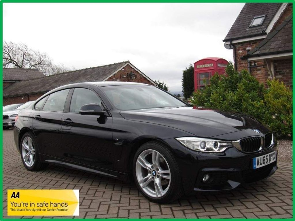 BMW 4 Series Gran Coupe Hatchback 2.0 420d M Sport Gran Coupe (s/s) 5dr