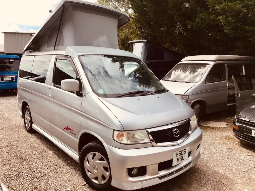 Mazda BONGO POP TOP 4 BERTH 6 SEATER CAMPER CONVERSION Campervan