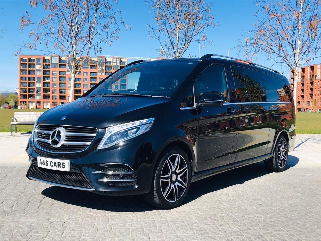 Mercedes-Benz V Class MPV 2.2 V220d AMG Line G-Tronic+ XLWB EU6 (s/s) 5dr 8 Seat XLWB