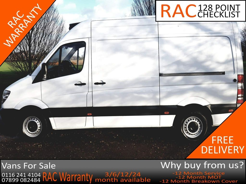 Mercedes-Benz Sprinter Temperature Controlled 2.1 CDI 314 Refrigerated Van 2dr (EU6, MWB)