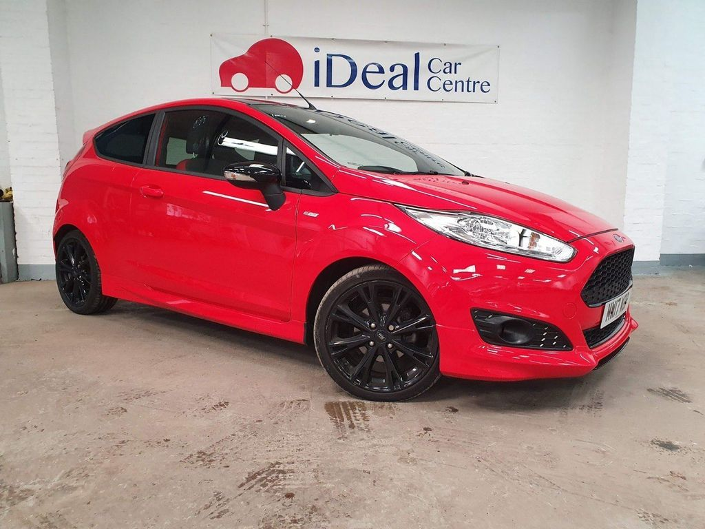 Ford Fiesta Hatchback 1.0 T EcoBoost ST-Line Red Edition (s/s) 3dr