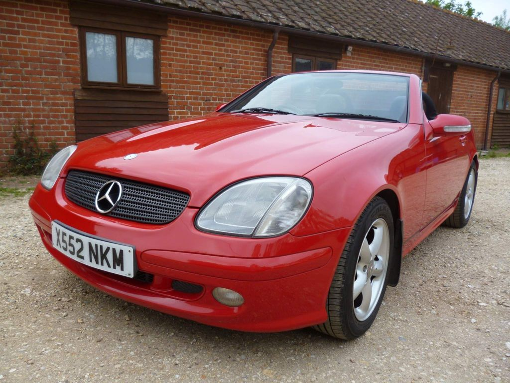 Mercedes-Benz SLK Convertible 3.2 SLK320 2dr