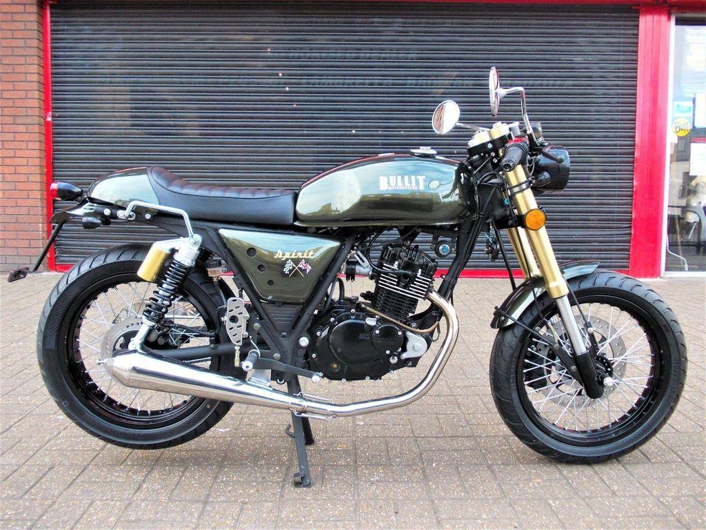 Bullit Motorcycles Spirit Naked
