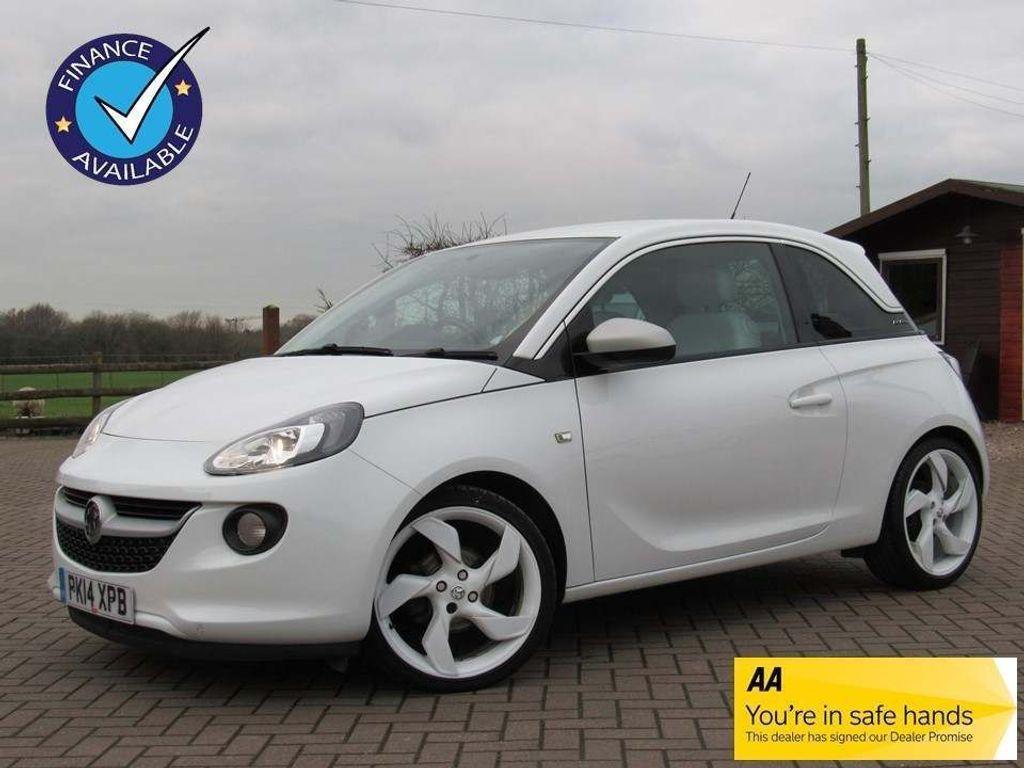 Vauxhall ADAM Hatchback 1.4 16v White Edition 3dr