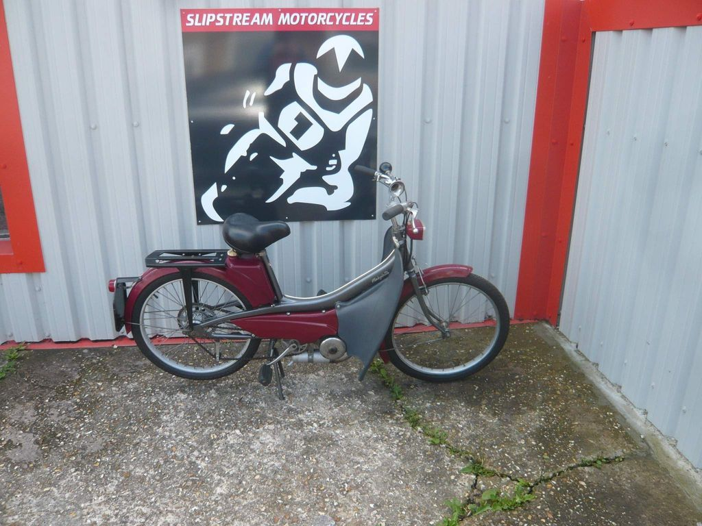 Mobylette Moped Unlisted