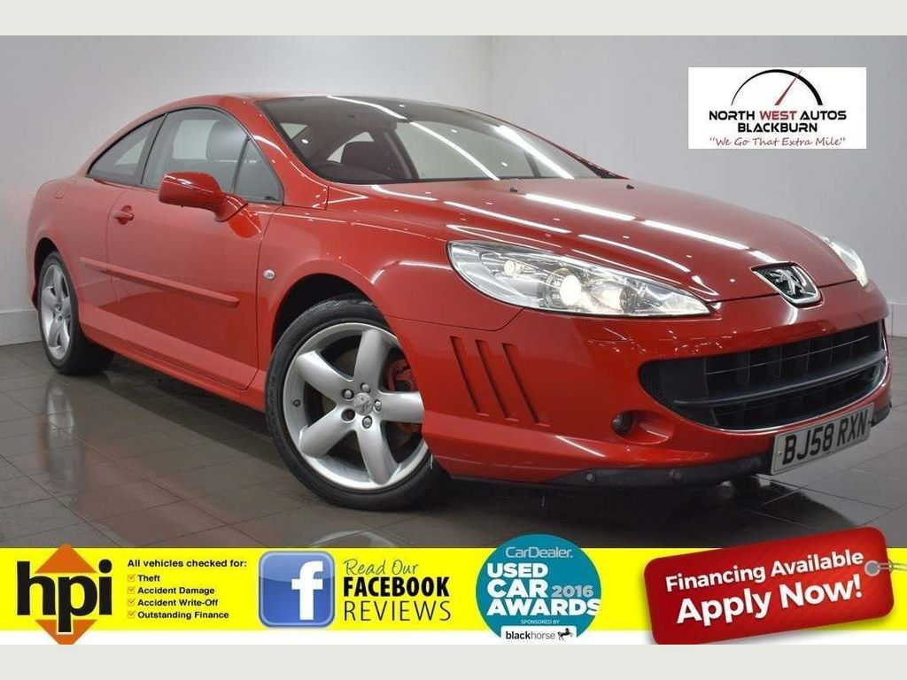Peugeot 407 Coupe 2.0 HDi Bellagio 2dr