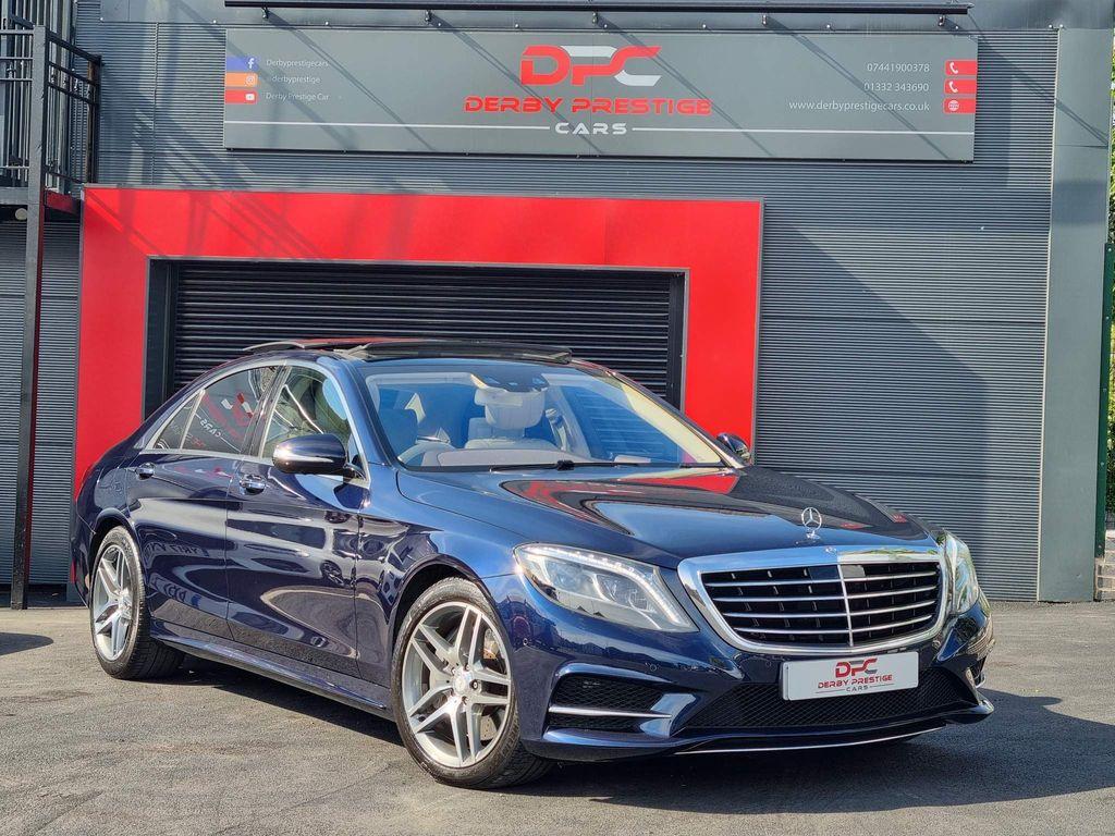 Mercedes-Benz S Class Saloon 3.0 S350L CDI BlueTEC AMG Line 7G-Tronic Plus 4dr