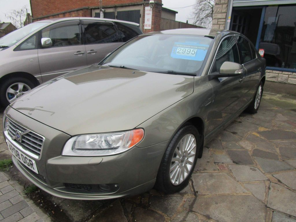 Volvo S80 Saloon 2.4 D SE Lux Geartronic 4dr
