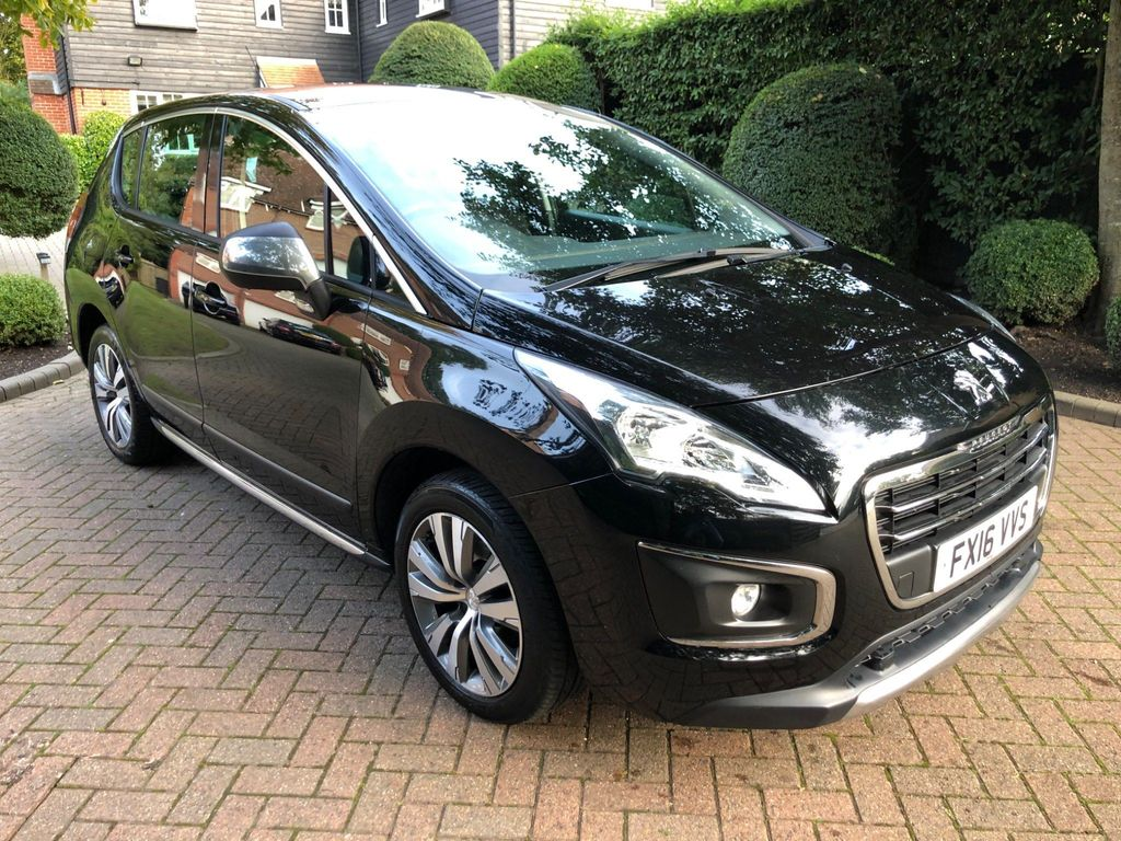 Peugeot 3008 SUV 1.6 BlueHDi Active (s/s) 5dr