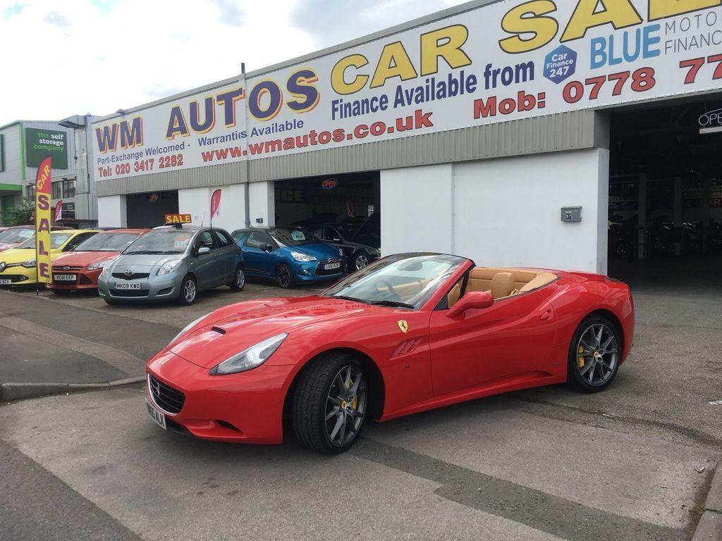Ferrari California Convertible 4.3 2dr