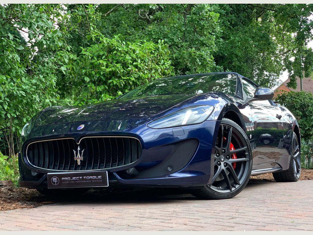Maserati GranCabrio Convertible 4.7 V8 Sport MC Shift 2dr EU5