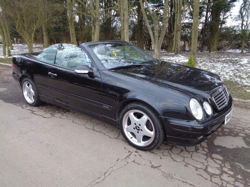 Mercedes-Benz CLK Convertible 3.2 CLK320 Elegance Cabriolet 2dr
