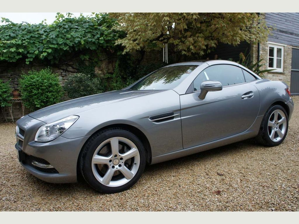 Mercedes-Benz SLK Convertible 1.8 SLK250 BlueEFFICIENCY Edition 125 7G-Tronic Plus 2dr