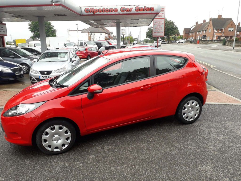 Used Ford Fiesta Hatchback 1 25 Edge 3dr In Mansfield