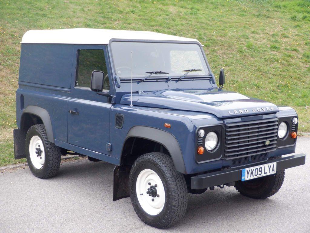 Land Rover Defender 90 SUV 2.4 TDCi Hard Top 4WD SWB 3dr