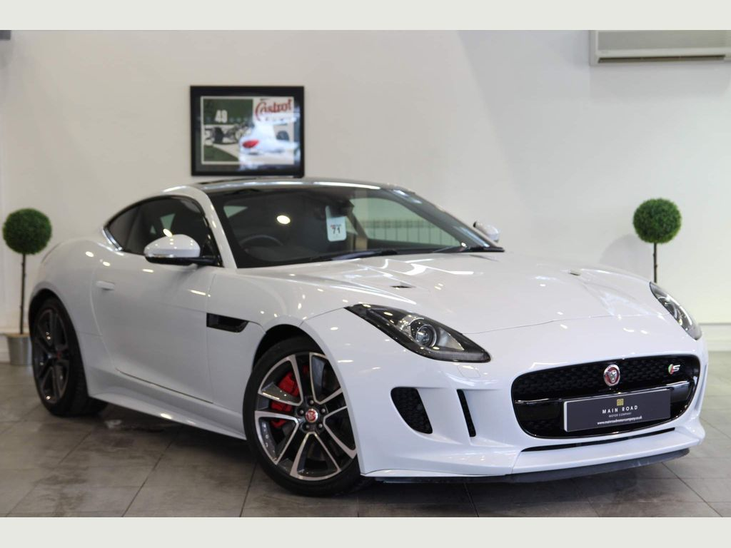 Jaguar F-Type Coupe 3.0 V6 Supercharged S (AWD) 2dr