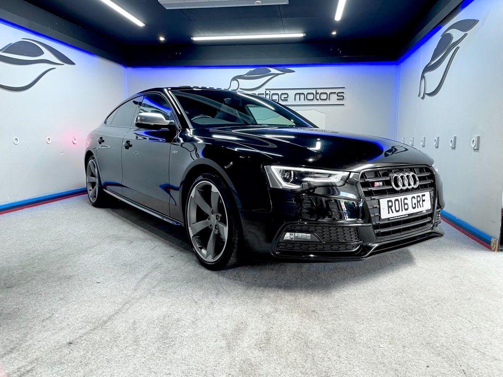 Audi S5 Hatchback 3.0 TFSI Black Edition Sportback S Tronic quattro (s/s) 5dr