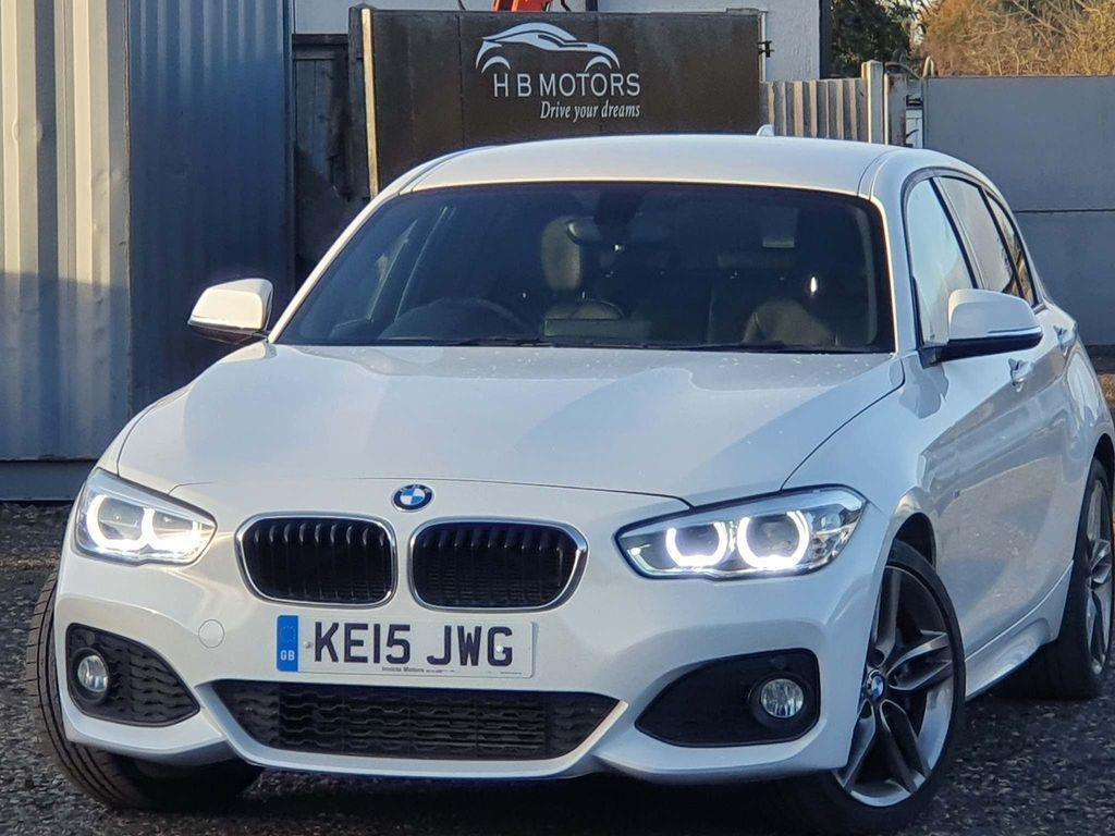 BMW 1 Series Hatchback 1.6 118i M Sport Auto (s/s) 5dr
