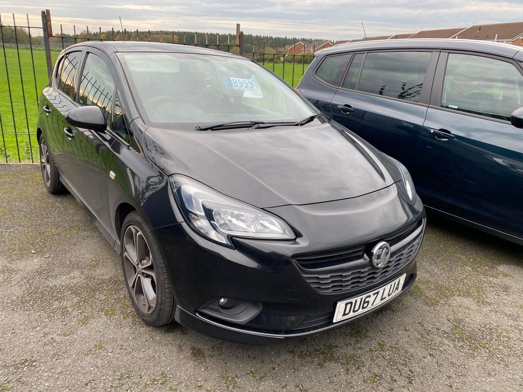 Vauxhall Corsa Hatchback 1.4i Turbo Black Edition (s/s) 5dr