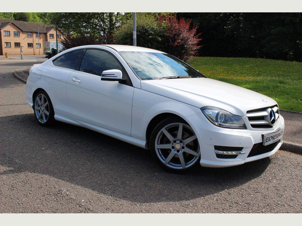 Mercedes-Benz C Class Coupe 2.1 C220 CDI AMG Sport Edition 7G-Tronic Plus 2dr