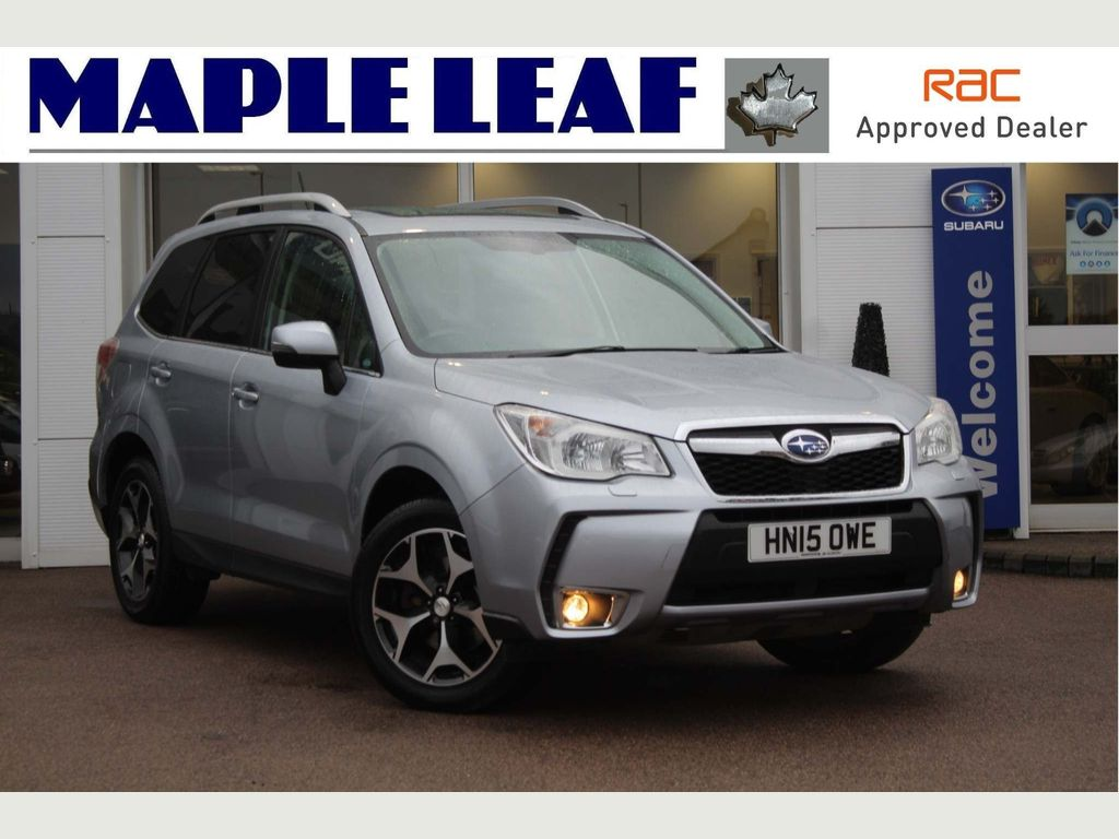 Subaru Forester SUV 2.0 XT Lineartronic 4x4 5dr
