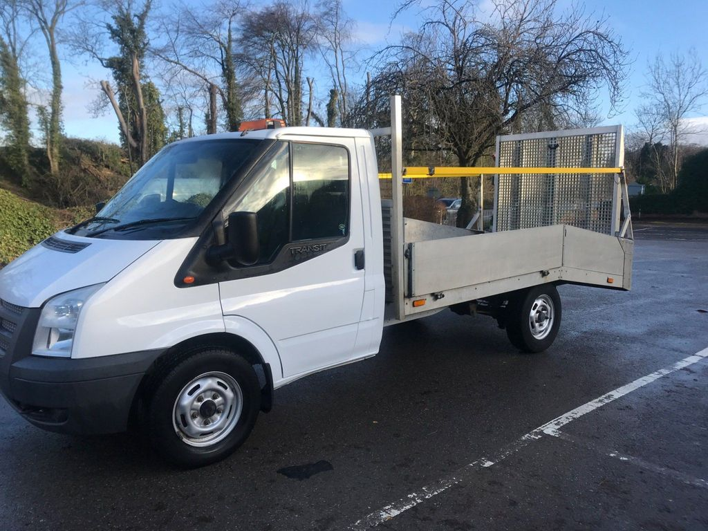 Ford Transit Dropside 2.2 . 12 Ft Beavertail , Chassis